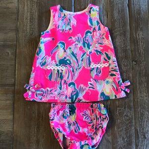 Lilly Pulitzer infant shift dress